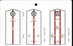 Как правильно расположить звезды на погонах