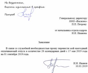 Написал заявление на отпуск по графику, директор не подписывает, что делать?
