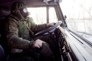 Водитель в армии.