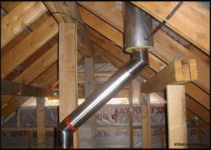 Скажите можно ли построить баню в 2 или 3 метрах от  воздушки  газовой трубы?труба проходит через мой огород.