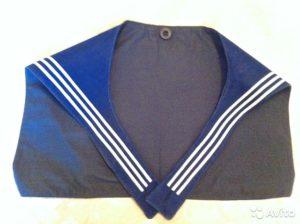 Что означают 3 линии на гюйсе у моряка?