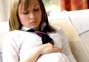 134 стать, 15 летняя девочка забеременела от 18 летнего парня..