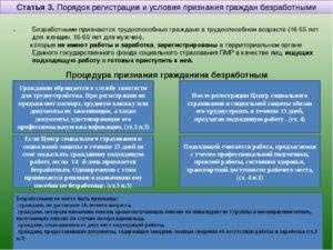 Каков порядок регистрации инвалидов в качестве безработных