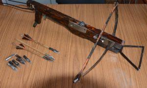 Самодельный арбалет - холодное оружие?