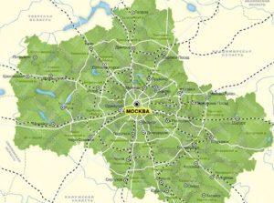 Москва и московская область это один регион или нет?