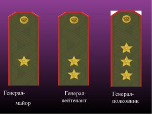 Кто старше генерал лейтенант или генерал полковник.