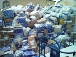 Посылки на почте