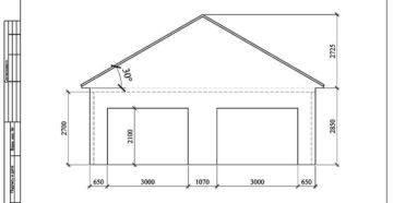 Какой высоты можно построить гараж.